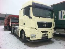 2008 MAN TGX 26.440, semi-trail