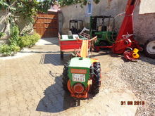 PASQUALI two-wheel tractor