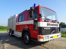 1994 VOLVO FL6-11 fire truck