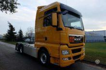 2013 MAN TGX tractor unit