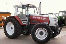 STEYR 9190 wheel tractor for pa