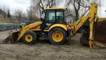 1999 FERMEC 860 backhoe loader