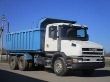 2001 SCANIA T124 dump truck