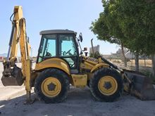 2005 HOLLAND LB115B backhoe loa