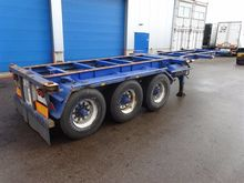 1987 NETAM chassis container ch