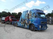 Damaged VOLVO FMS-06 dump truck