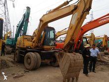 2008 KOMATSU PC120 wheel excava