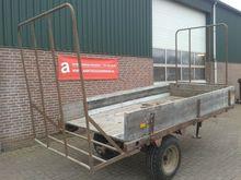 PLATTE wagen flatbed trailer