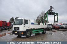1996 MAN 18.264 flatbed truck