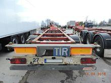 2008 FRUEHAUF T39 container cha