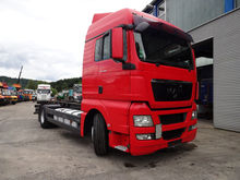 2008 MAN 18.400 chassis truck
