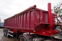 1999 TRANDERS grain truck semi-