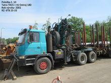 2001 TATRA T 815 6x6 tractor un