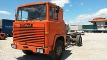 1971 SCANIA 111 chassis truck