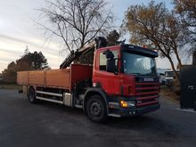 2002 SCANIA 94D260 flatbed truc