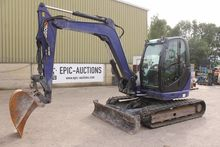 2010 JCB 8085 ZTS tracked excav