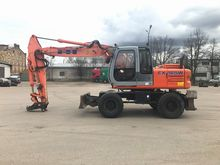 2001 HITACHI EX165 W wheel exca