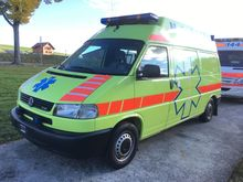 1999 VOLKSWAGEN T4 syncro 4x4 a