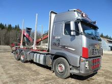 2008 VOLVO FH16 580 timber truc