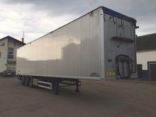 2012 closed box semi-trailer