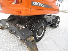 2012 DOOSAN DX190W wheel excava