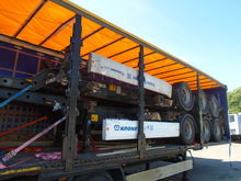 2007 KRONE SD container chassis