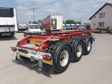 2011 FLIEGL container chassis s