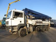 2008 MAN 32.360 concrete pump