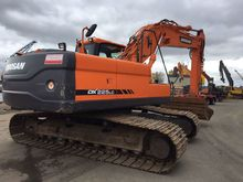 2011 DOOSAN DX 225 tracked exca