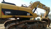 CATERPILLAR 340D excavator trac