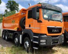 2017 MAN TGS 41.400 BB-WW dump