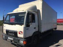 1998 MAN 8.163 closed box truck