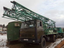 1989 MAZ BA-15 drilling rig