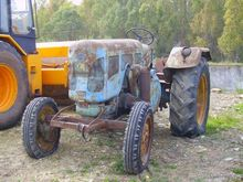LANZ 38 wheel tractor
