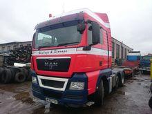 2010 MAN TGX 18.440 tractor uni