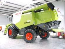 2016 CLAAS 670 combine-harveste