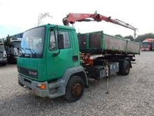 1999 DAF FA55/180 dump truck