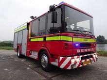 1997 Dennis Rapier fire truck