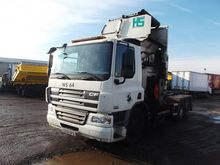 2009 DAF CF75.250 chassis truck