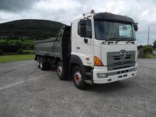 2008 HINO 700 dump truck