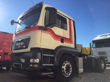 2009 MAN tgs18.480 tractor unit