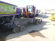 Platform trailer by auction