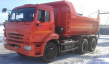 New KAMAZ 65115 dump