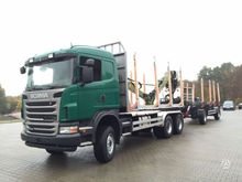 2012 SCANIA G440, timber trucks