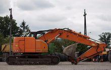 2005 CASE CX225SR tracked excav