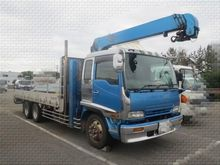 2001 ISUZU Forward flatbed truc