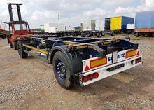 2012 SCHMITZ chassis trailer