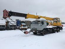 2000 KAMAZ 53215S mobile crane