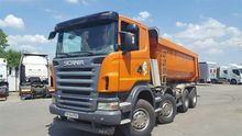 2008 SCANIA R 420 dump truck