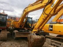 2006 JCB JS200W, excavator whee